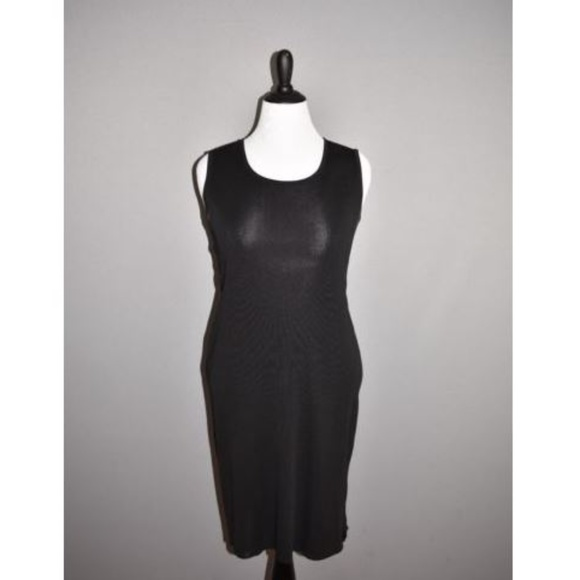 Misook Dresses Exclusively Misook Black Tank Dress Poshmark